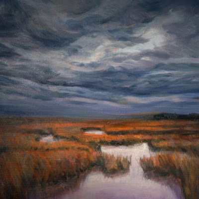 The Great Marsh, atmospheric, stormy,labyrinth