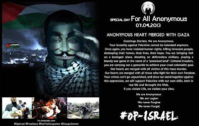 Operation Israel #OPISRAEL 7 April 2013