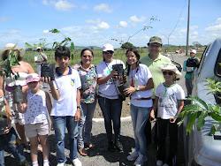 Plantio de árvores nativas em Ribeirópolis