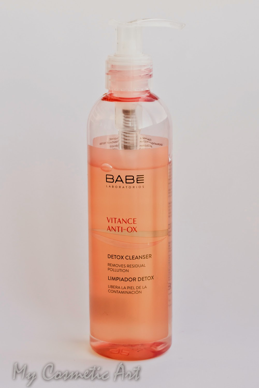 Limpiadora facial Detox de Babé Laboratorios.