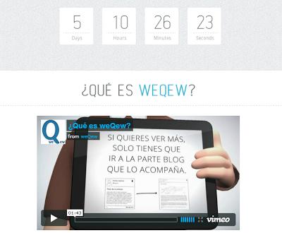 WeQew es la nueva red de Blogging y Microblogging