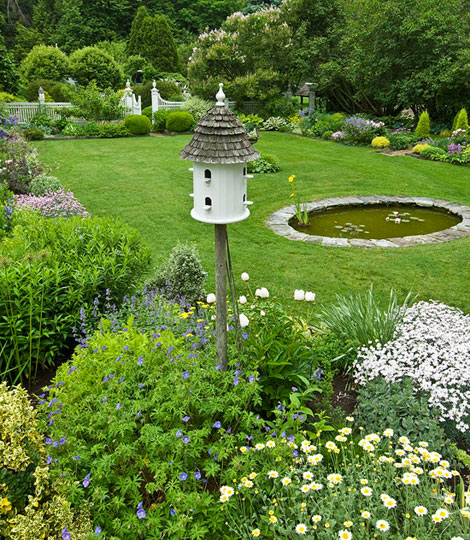 Home On Gardent Ct: Made In Heaven: Classic Connecticut Garden