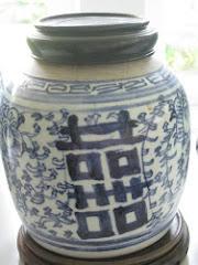 Kinesisk glädje kruka