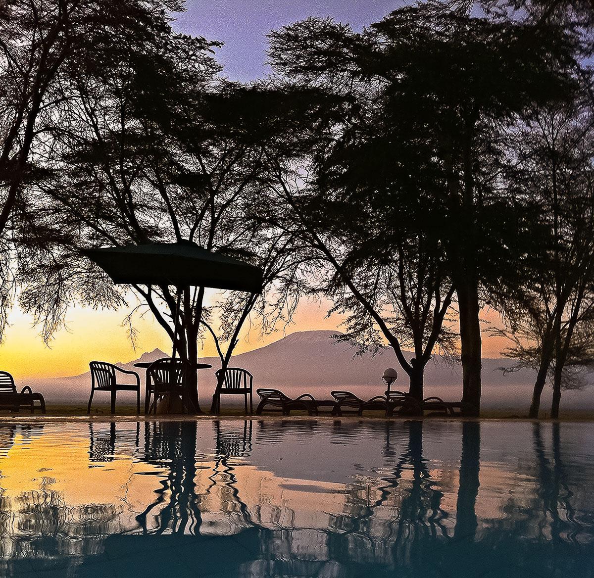 Amboseli, Kenia, Lanschaft, Wolken, Afrika, Nature, Nikon, D750, Objektiv AF-S NIKKOR 20 mm 1:1,8G ED, Safari, Ol Tukai Lodge, Sunset, Kilimanjaro