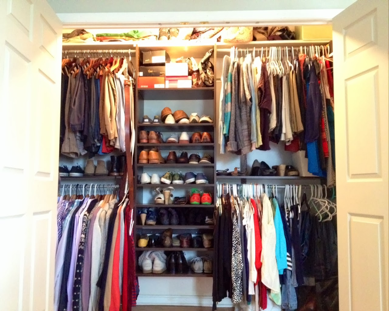 Two It Yourself Best Small Closet System to Maximize