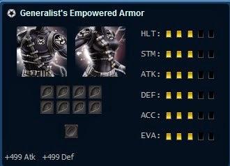 Generalist's Empowered Armor