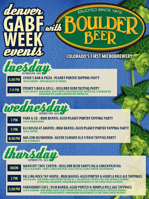Boulder Beer Events