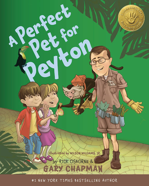 A book review of A Perfect Pet For Peyton by Gary Chapman and Rick Osborne (Moody Publishers) by papertapepins
