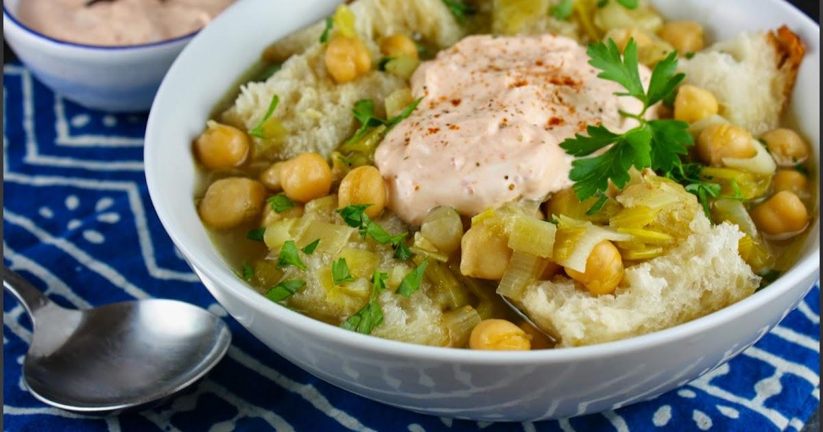 Kahakai Kitchen: Chickpea, Leek, and Bread Soup with ...