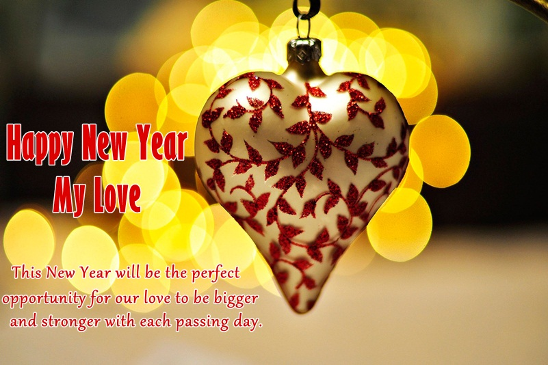 New Year Heart Image