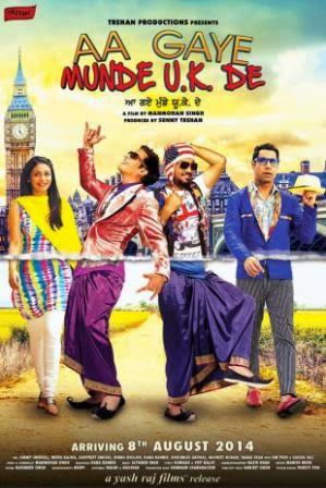 Aa Gaye Munde U.K. De (2014) movie