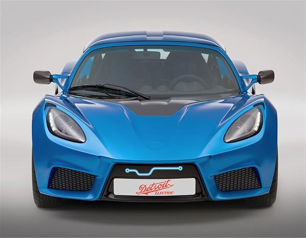 detroit electric unveils the worlds fastest electric car