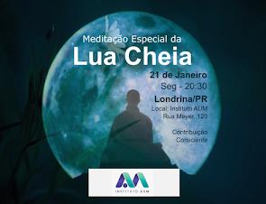 Meditação Especial da Lua Cheia - Jan 2019
