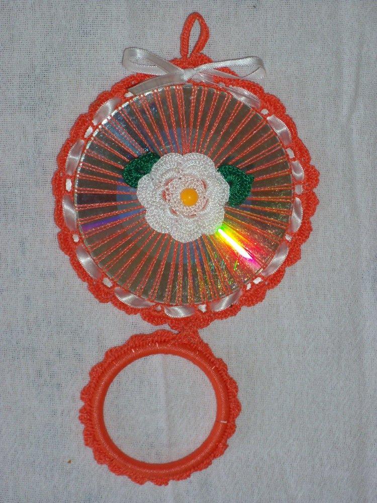 Aparador Tok Stok Branco ~ Artesanatos Virtual Porta toalha de CD