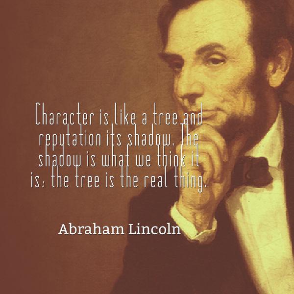 kata mutiara tokoh dunia Abraham Lincoln