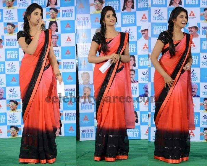 Anchor Shyamala Pretty Chiffon Sari