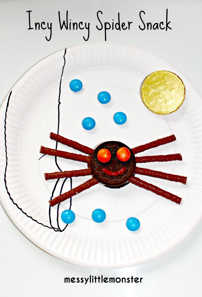Make and play with incy wincy spider biscuits