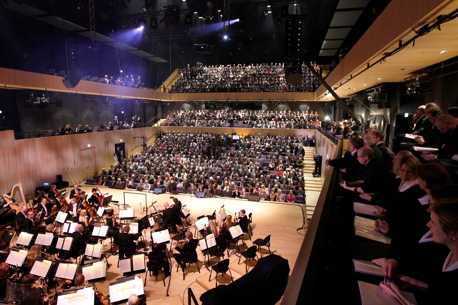 Konsertsalen i Kilden. Foto: Kjartan Bjelland