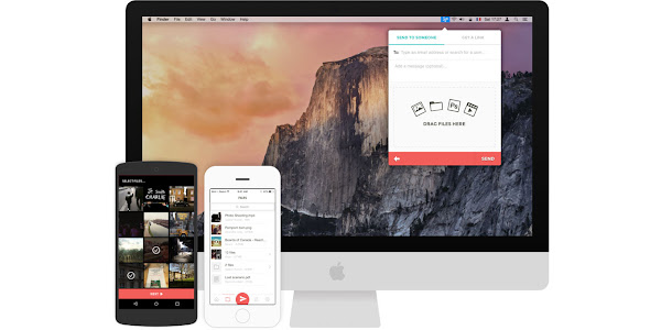 Infinit for iOS and Android works with Mac and Windows
