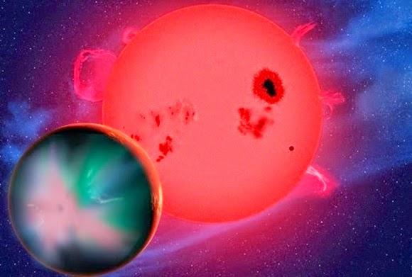 Planet Neraka Pengorbit Katai Merah