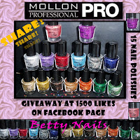 Betty Nail&#39;s Mollon Party Line Internacional Giveaway