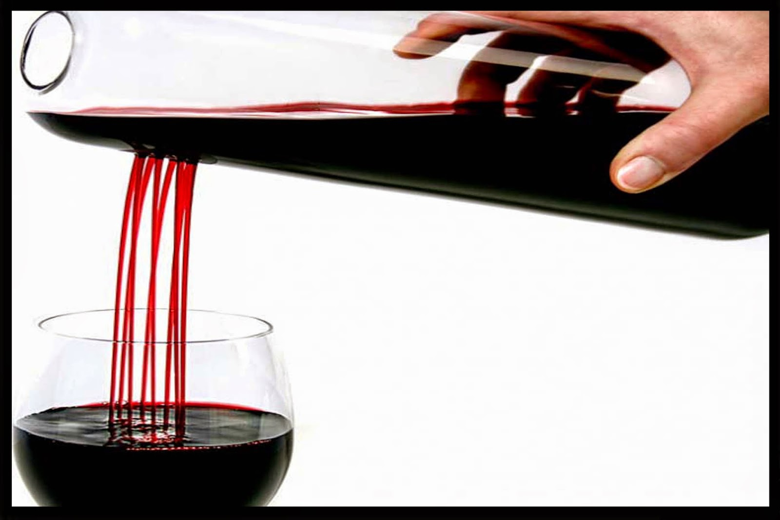 decantar un vino