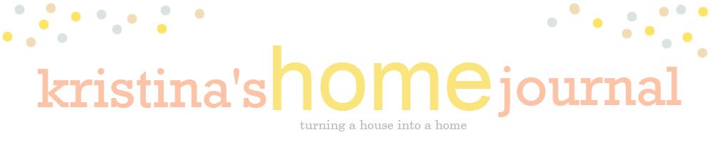 Kristina's Home Journal