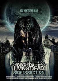 Capa do Filme A Noite dos Mortos-Vivos Ressurreição
