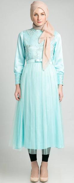 Dress Muslim Wanita Terbaru 2015