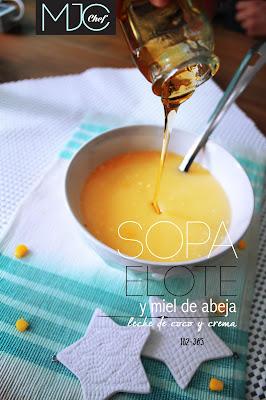 Sopa de elote