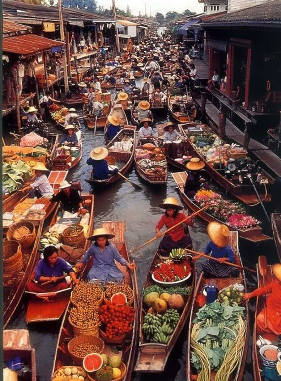 The Nicest Pictures: Floating Market, Ratchaburi, Thailand