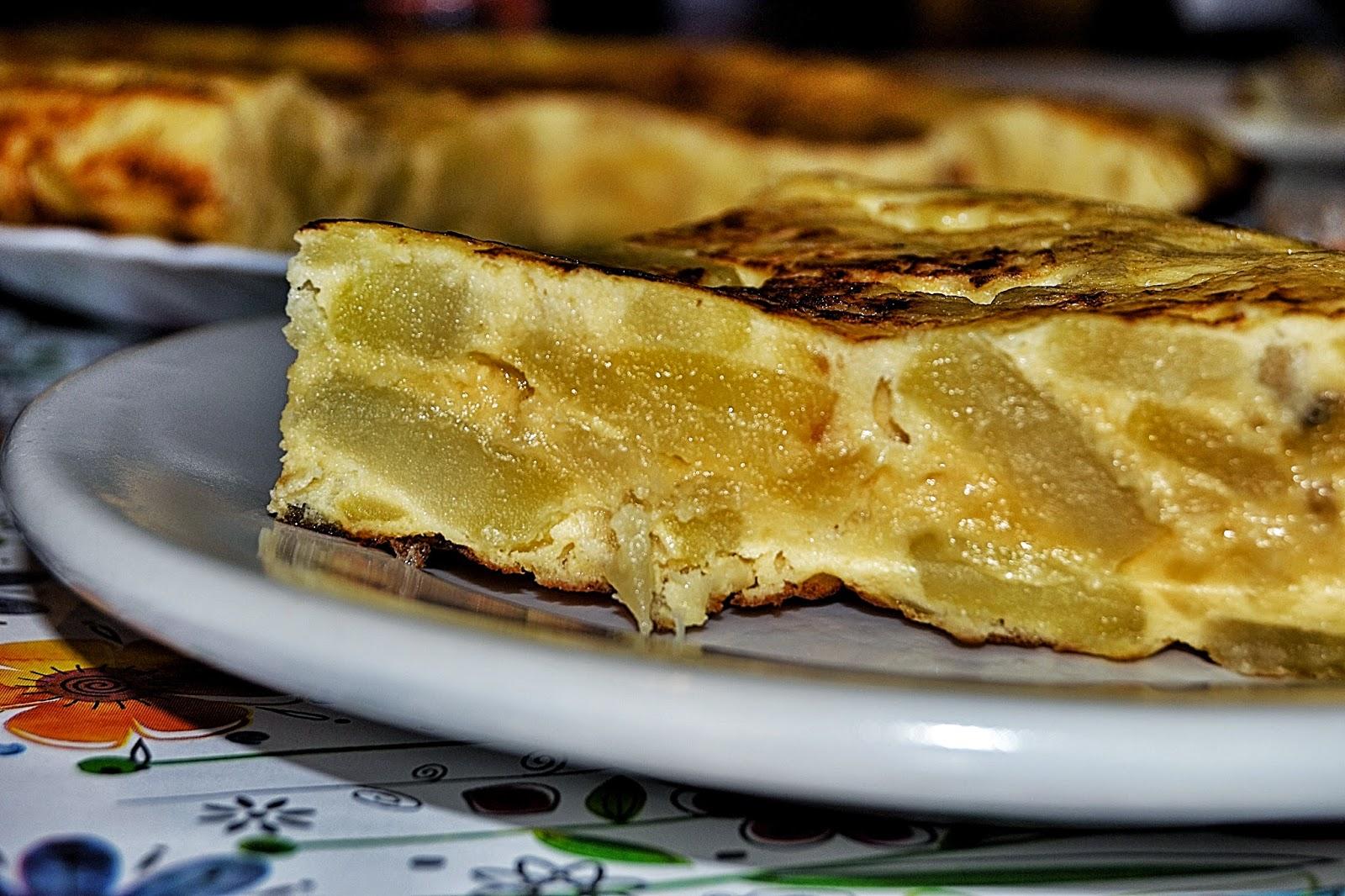 pincho de tortilla de papas