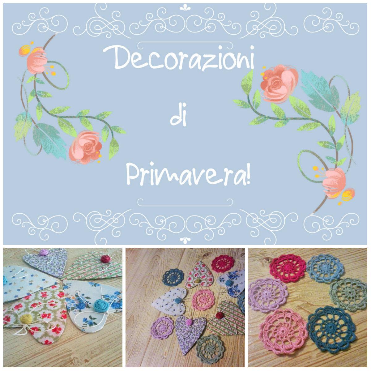 Silvia family dec decorazioni di primavera sparse - Decorazioni primavera ...