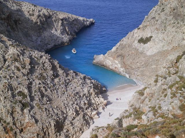 Zatoka Szatana, Akrotiri, Kreta