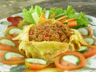 resep masakan tradisional betawi Nasi Goreng Ulam