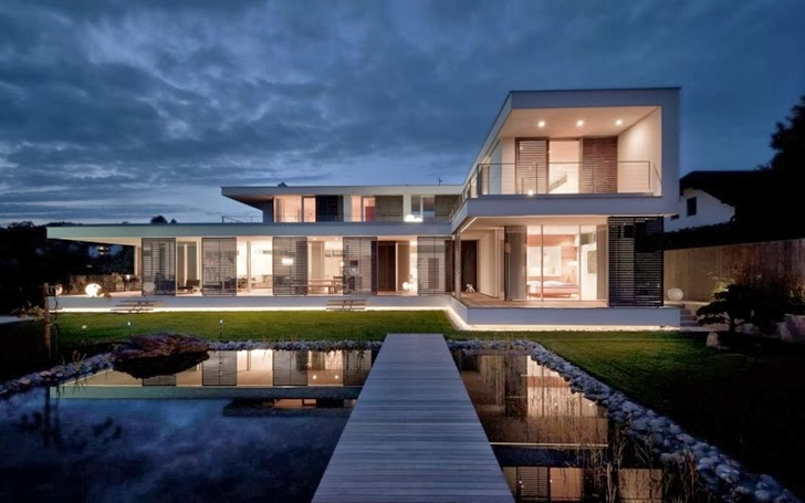 World Of Architecture: Modern Haus Sk In Austria
