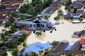 banjir surut
