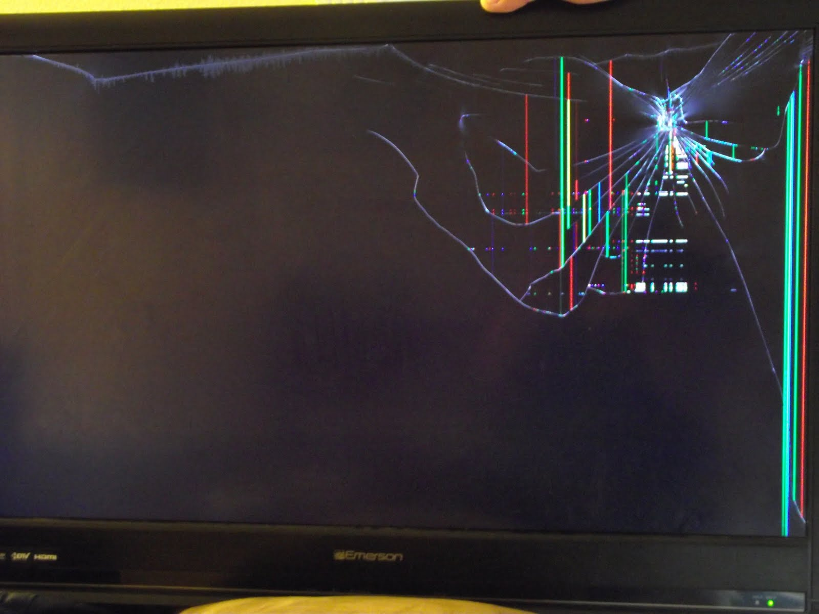 how to fix a broken flat screen lcd led tv with lines or - HD 1600×1200