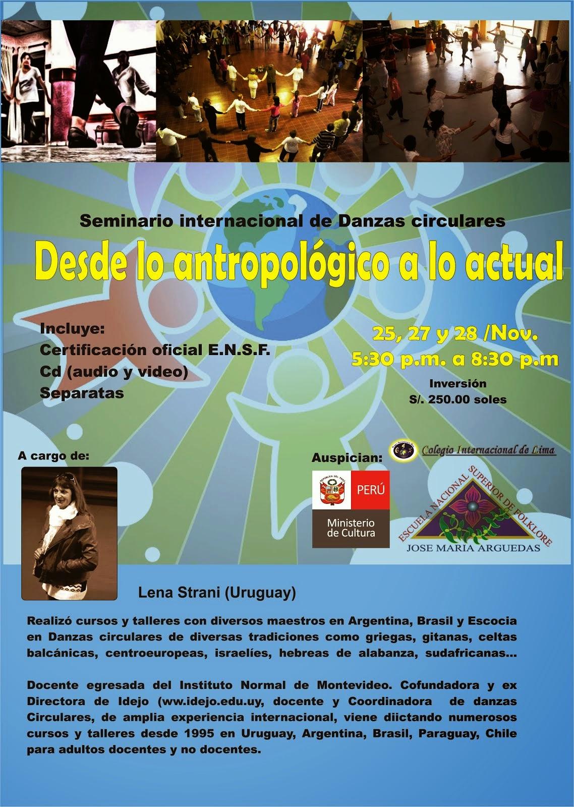 Seminario Internacional - Lima, noviembre 2014