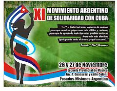 9º Encuentro del Movimiento Argentino de Solidaridad con Cuba