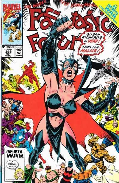 Fantastic Four 369 Malice