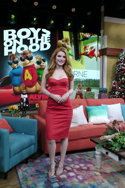 Actress, Singer, Model, @ Bella Thorne - On 'Despierta America' in Miami