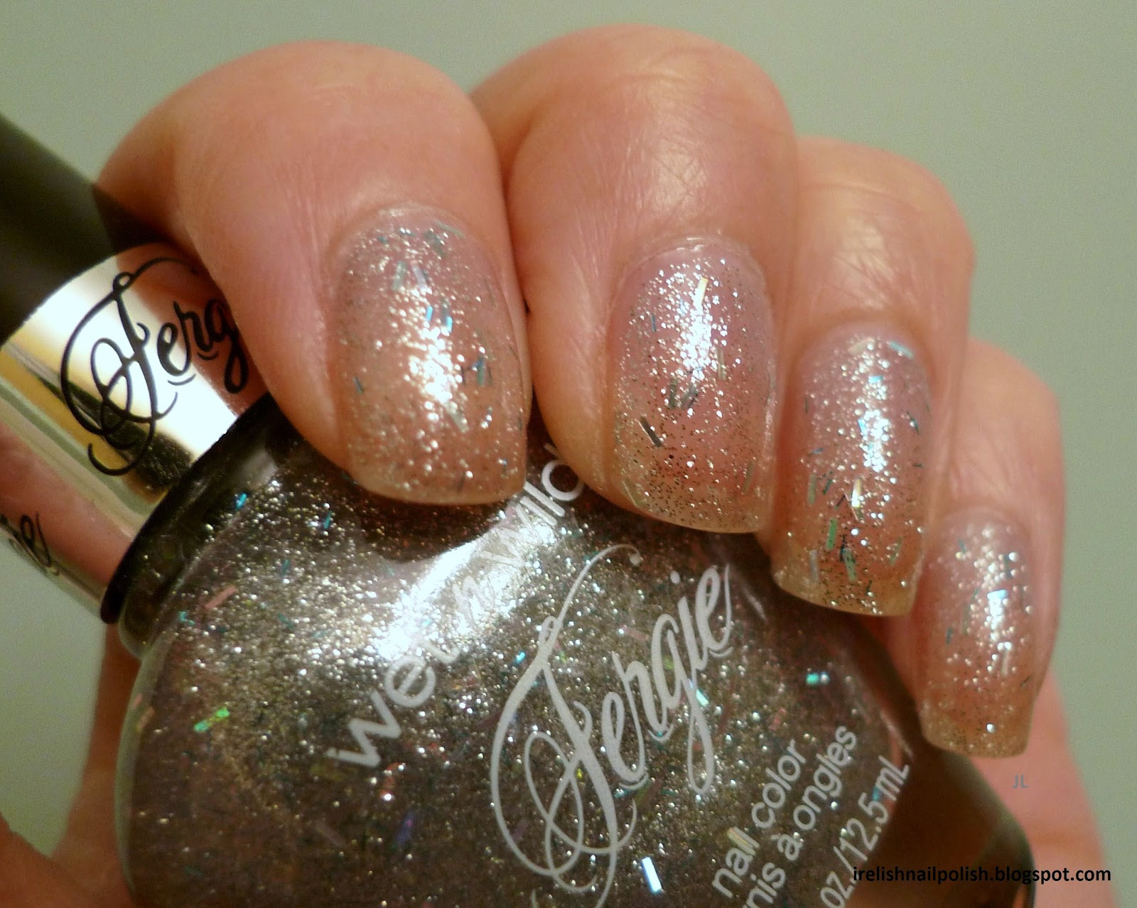 I Relish Nail Polish!: NOTW WNW Fergie New Years Kisses, NUP Sangria