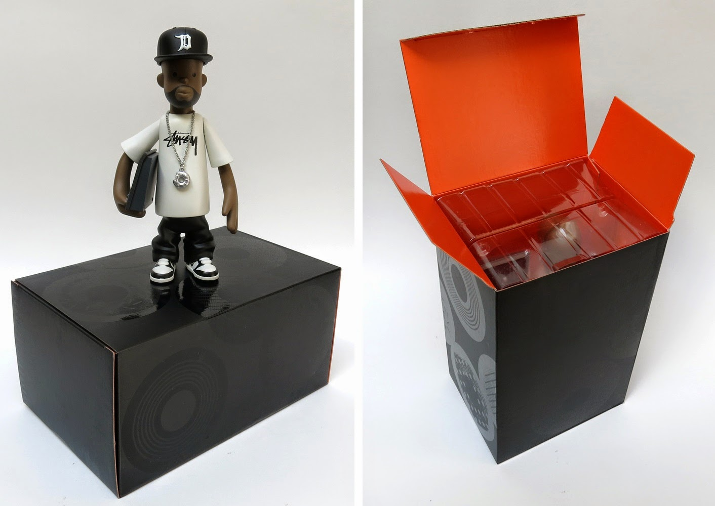 J Dilla Vinyl Figure by Pay Jay
