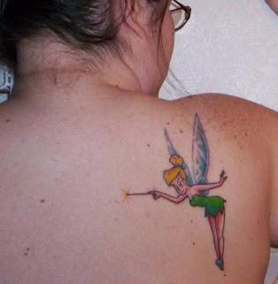 Tinkerbell Tattoos - Tinkerbell tattoo ideas