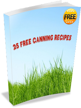 Get 25 Free Canning Recipes