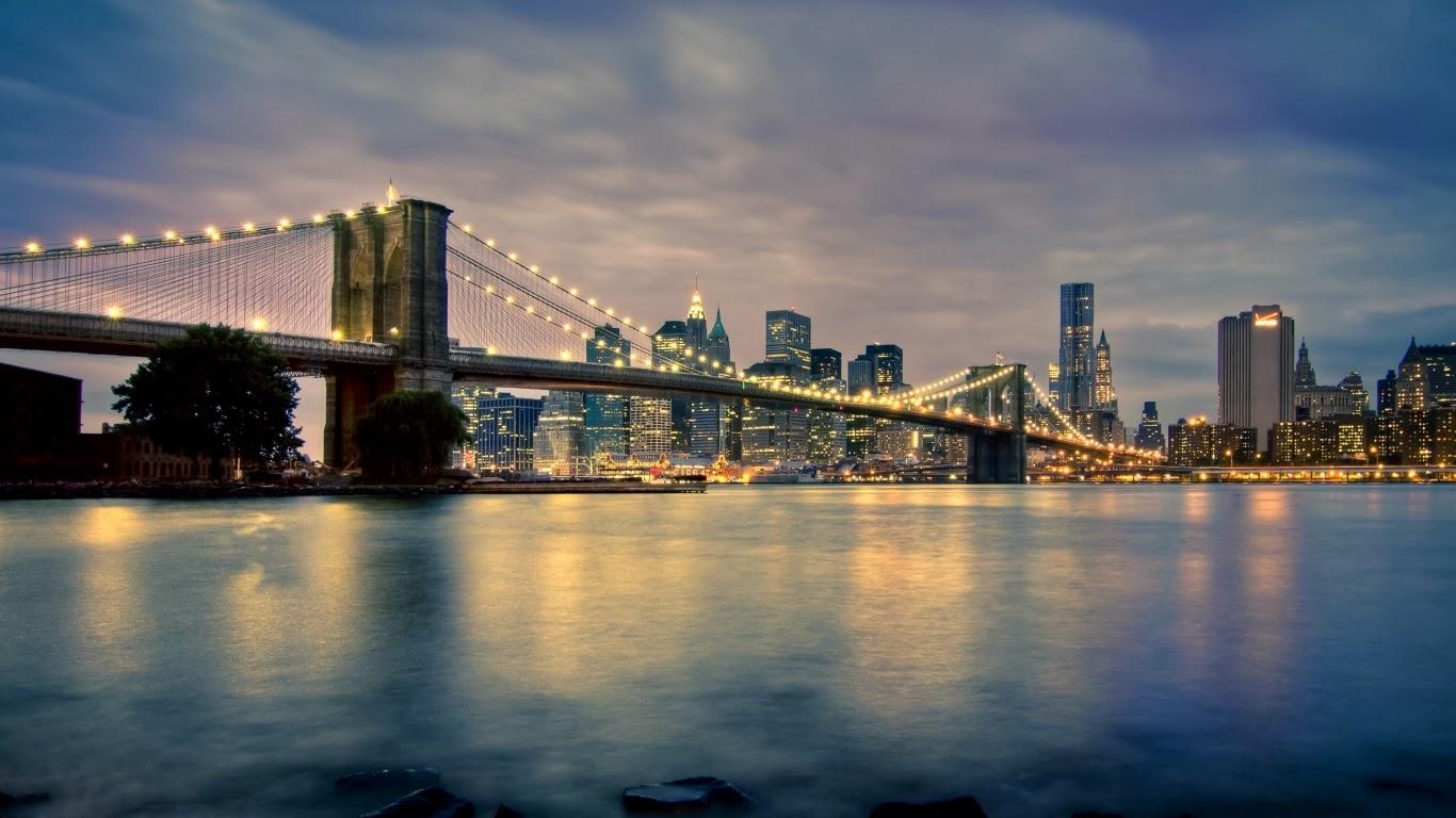 New york city manhattan bridge hd wallpaper manhattan bridge hd