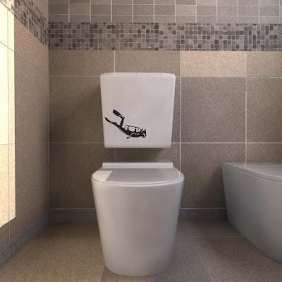 Vinilo para decorar cisterna de baño