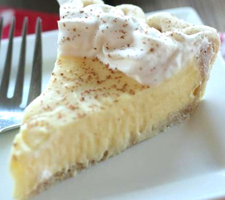 Eggnog Cream Pie Recipes