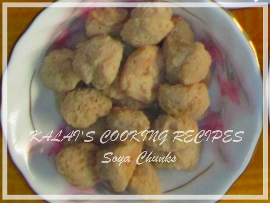 How to Use / Cook Soya Chunks